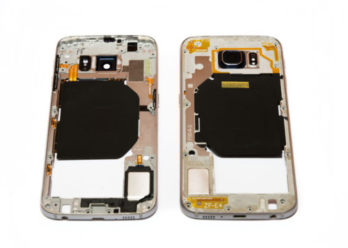 6c1f39b6a75 Carcasa Intermedia Gris Oscuro Original para Samsung Galaxy S6