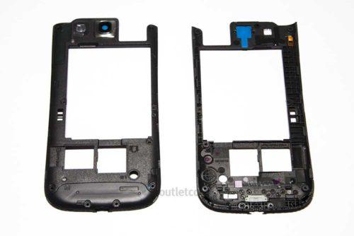 250cad4283f Carcasa Intermedia Gris Oscura Nueva Original para Samsung Galaxy S3 Neo